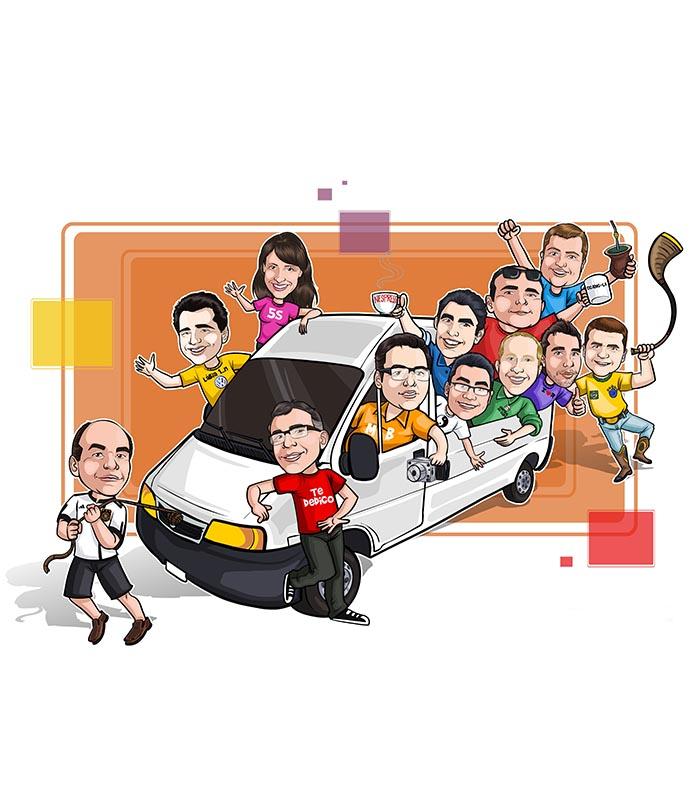 Caricatura-grupo-webcaricaturas-1 Caricatura de Grupo