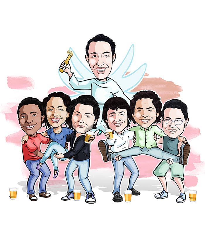 Caricatura-grupo-webcaricaturas-7 Caricatura de Grupo