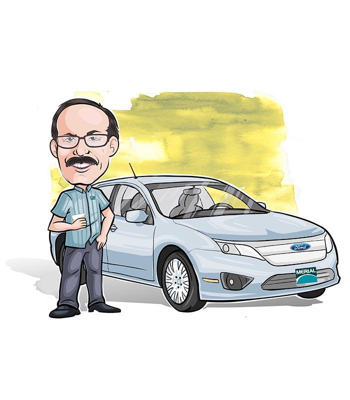 Caricatura individual com veiculo webcaricaturas 02