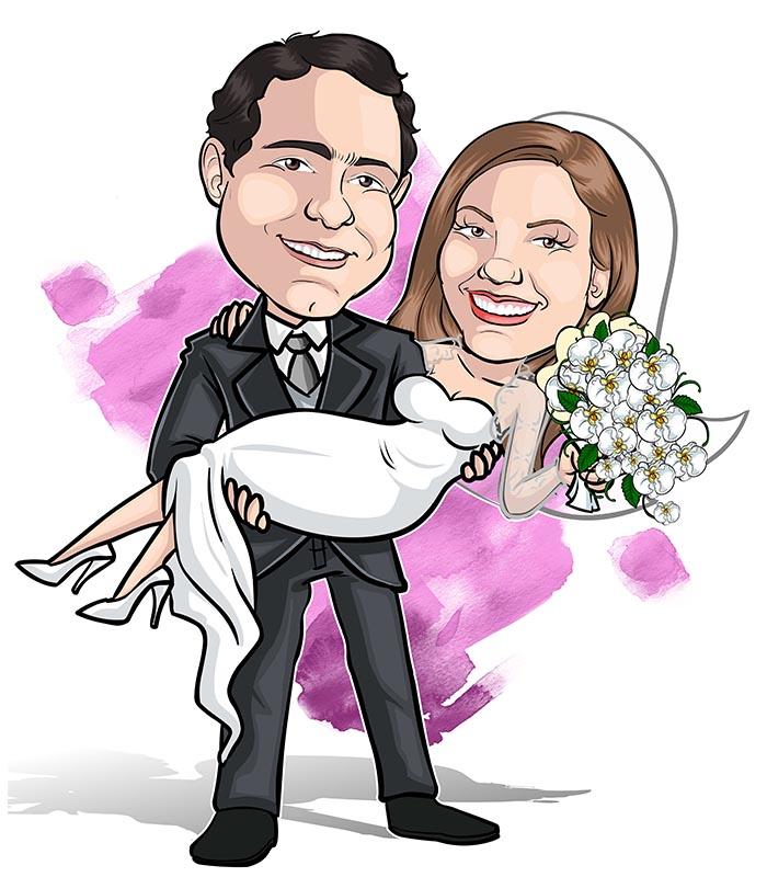 Caricatura noivos webcaricaturas-02