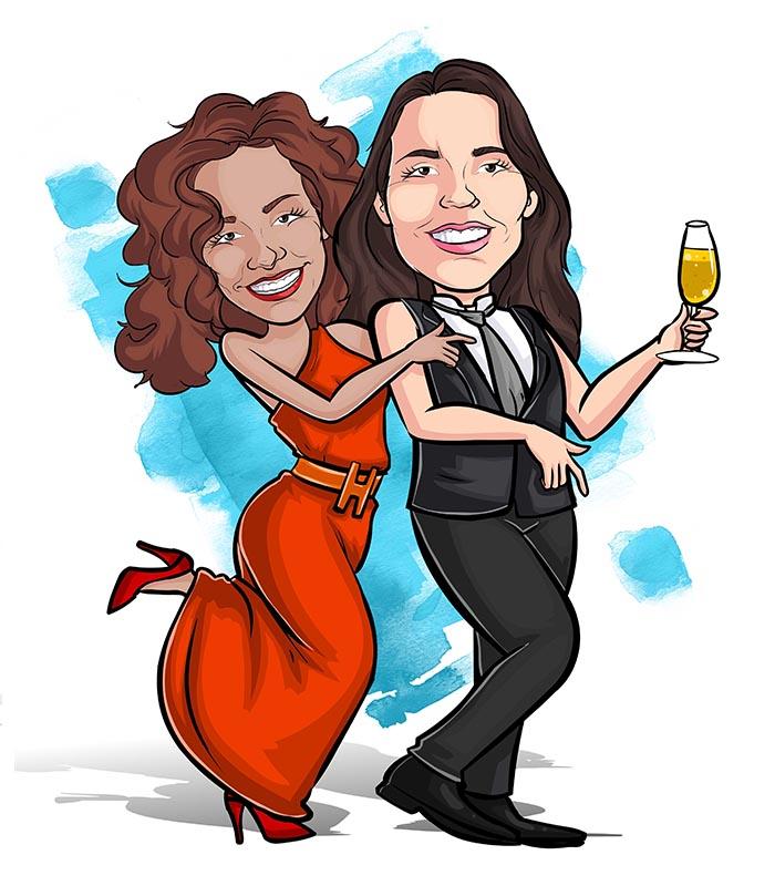Caricatura noivos webcaricaturas-06