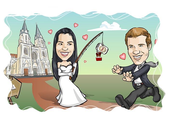 img caricatura noivos cenario webcaricaturas04